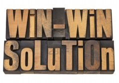 12358993-win-win-solution--negotiation-or-conflict-resolution-concept--isolated-words-in-vintage-wood-type
