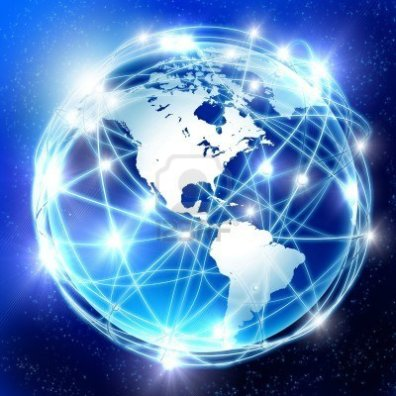 8247796-earth-and-the-communication-on-its-surface-a-symbol-of-high-speed-and-technology