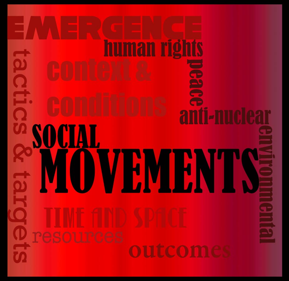 social movement Social movements are a type of group actionthey are large informal groupings of individuals and/or organizations focused on specific political or social issues, in other words, on carrying out, resisting or undoing a social change.