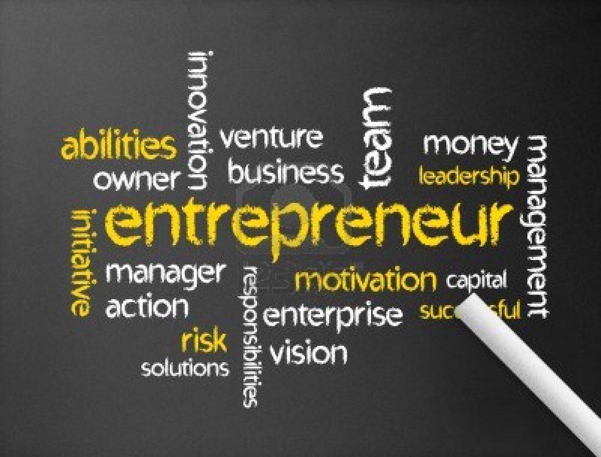 crown publishing group r s organizational management 13779218 dark chalkboard the word entrepreneur illustration