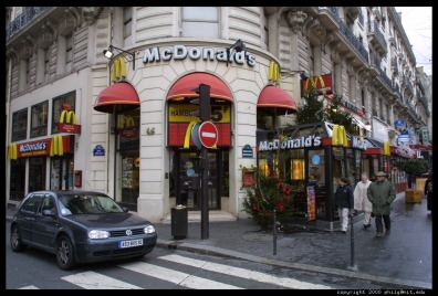 F McDonalds-France