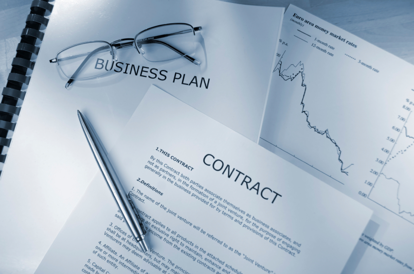business law case study contract