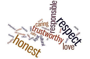 Values students ideas