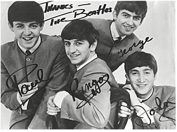 BeatlesAutographs1