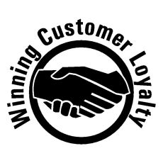 winning customer loyalty logo