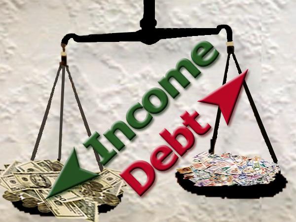 Was ist eine akzeptable Schulden Income-Ratio