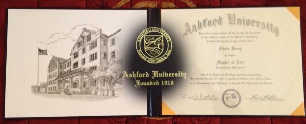 Ashford Diploma