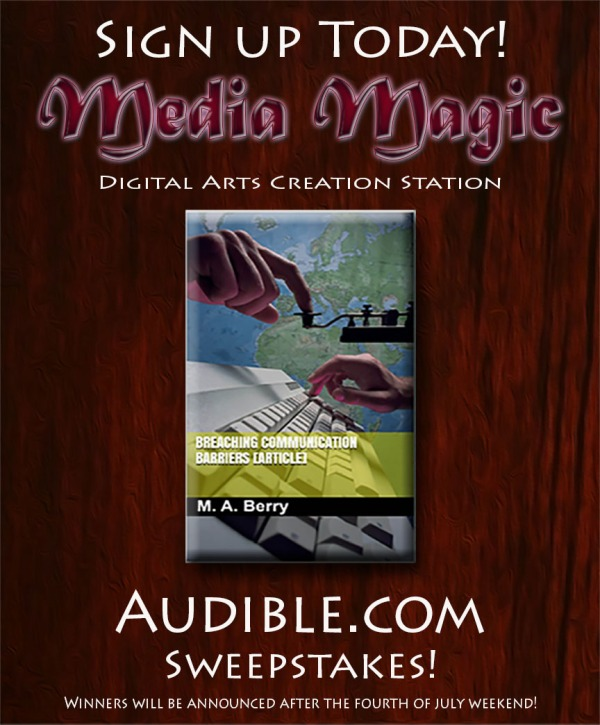 New Media Magic Facebook Sweepstakes ad