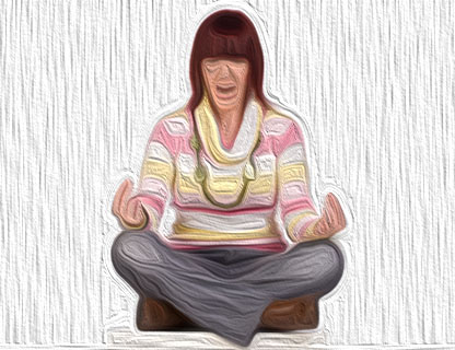 meditating difficutly