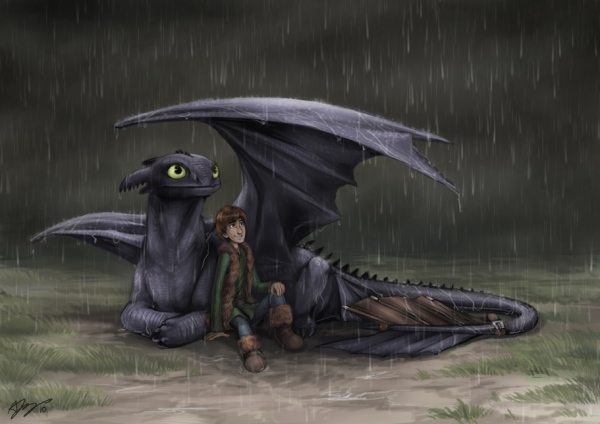How_To_Train_Your_Dragon_by_pinali