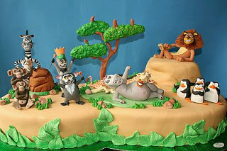 Tortas Madagascar 3