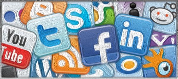 social media logos oil