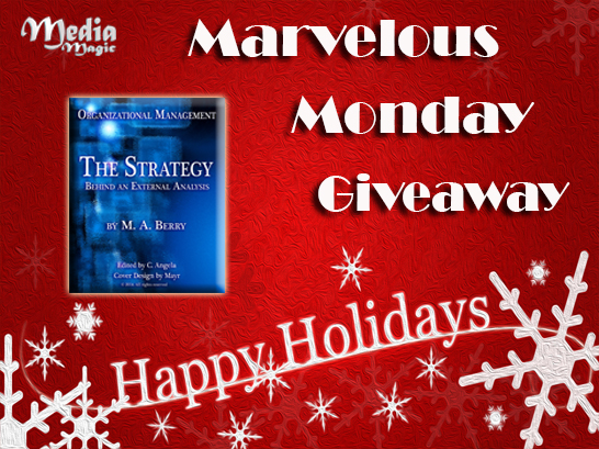 Marvelous Monday Giveaway
