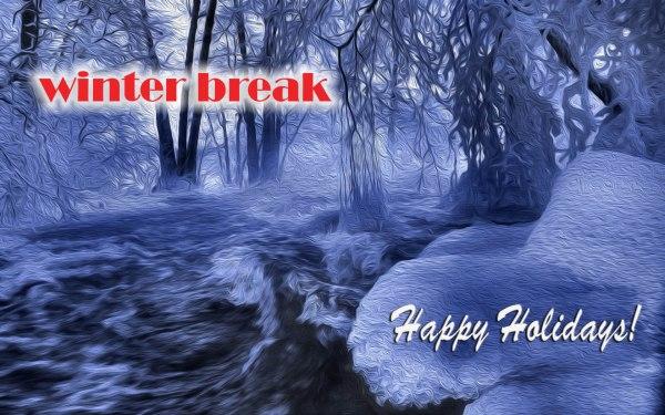 Winter Break Monday 1