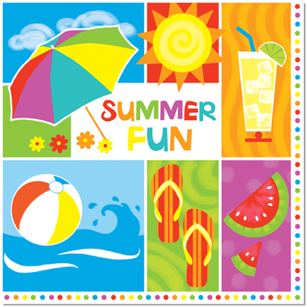 75224-summertime-fun-lunch-napkins