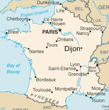 Dijon-Map